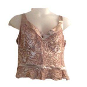 Anne Klein Light Rose Textured Camisole